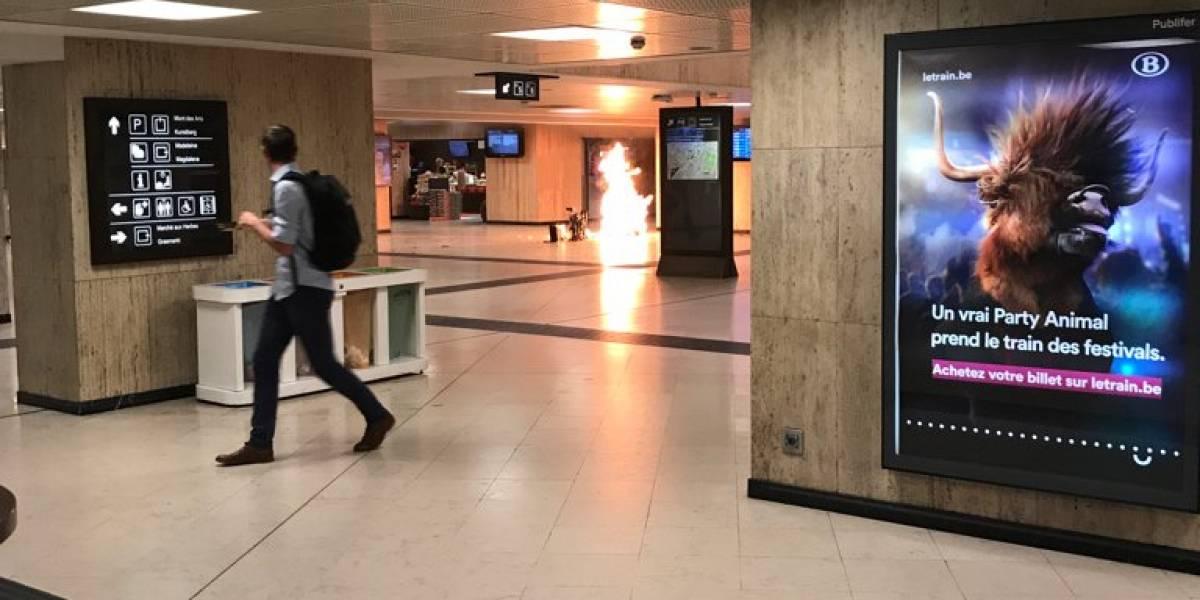 Confirman muerte del hombre abatido en el ataque terrorista que afectó a Bruselas