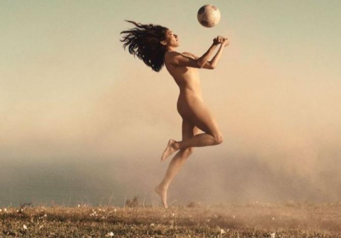atletas desnudos