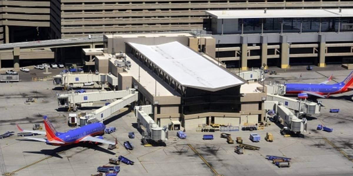 Cancelan 50 vuelos en Phoenix por calor extremo