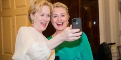 Clinton y Streep