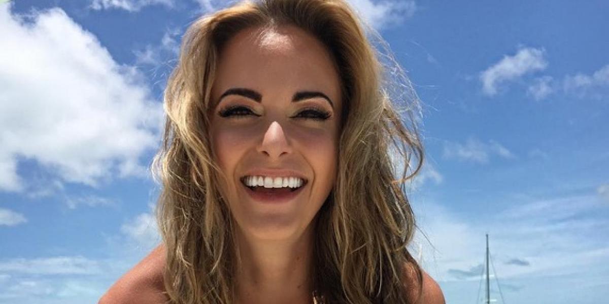 Jena Sims, la bella novia del nuevo campeón del US Open