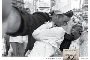 O famoso beijo na Times Square