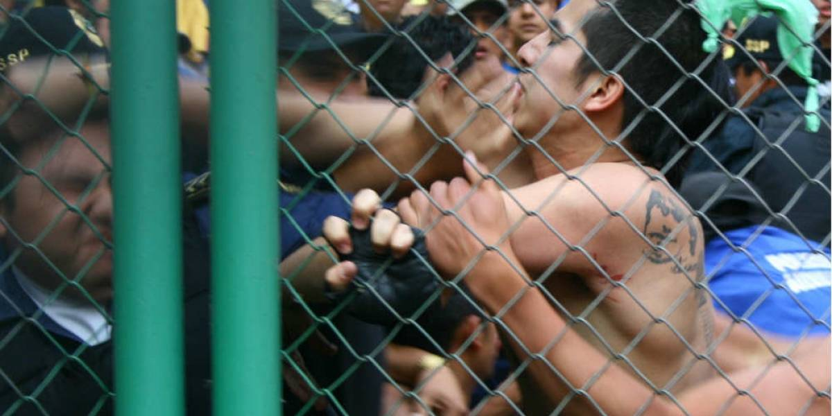 Proponen hasta cuatro años de cárcel por violencia en estadios