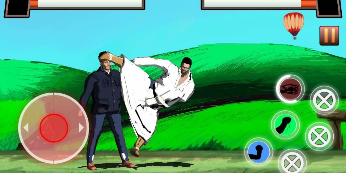 Crean videojuego basado en Street Fighter para bajar de peso
