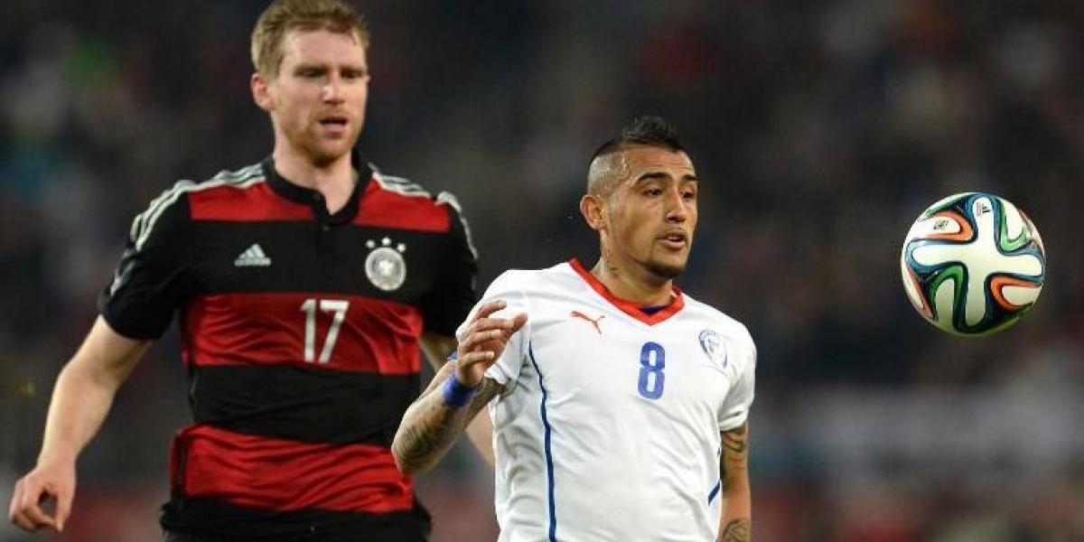 El amistoso contra Alemania que Vidal no olvida y que marcó un antes y un después para La Roja