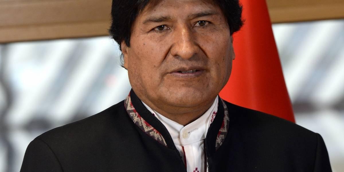 """Morales: """"El fallo es una represalia porque demandamos a Chile ante La Haya"""""""