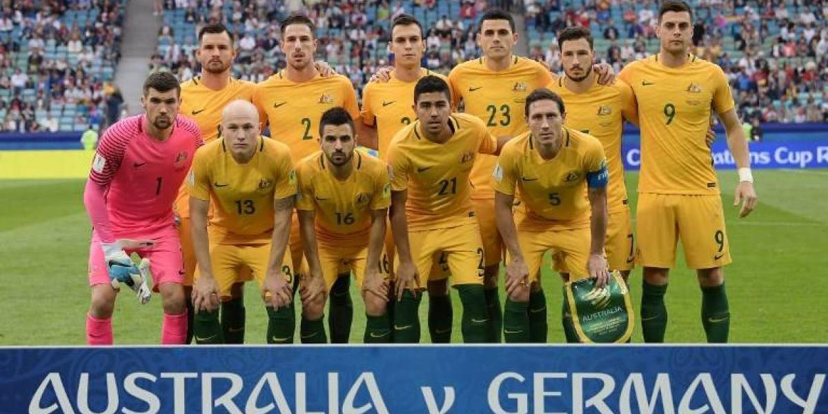 Australia se estrena en la Confederaciones de Rusia como representante asiático