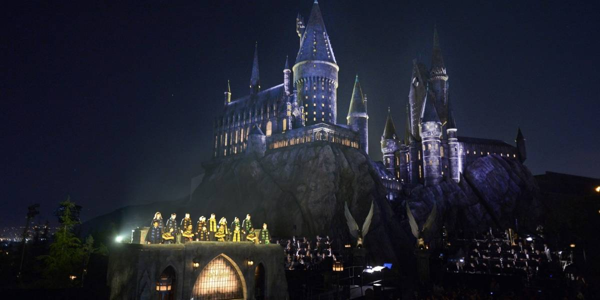 Castillo de Hogwarts cobra vida en Hollywood