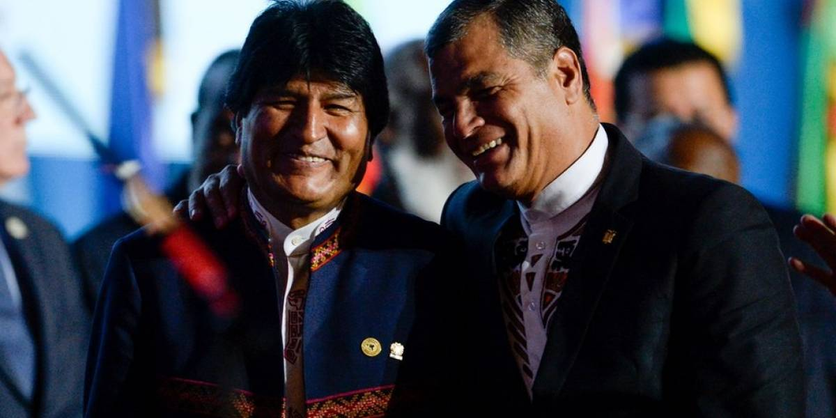"""Rafael Correa: """"Toda América Latina debería hacer concesiones para que Bolivia tenga acceso al mar"""""""