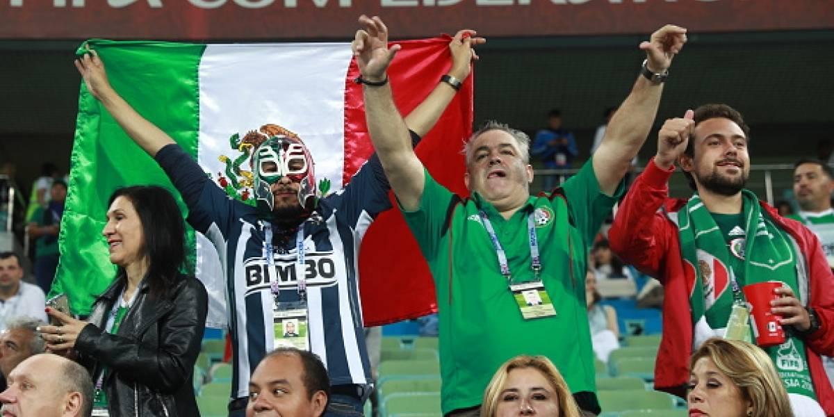 Sacan a mexicanos del estadio de Sochi por gritar 'eh put...'