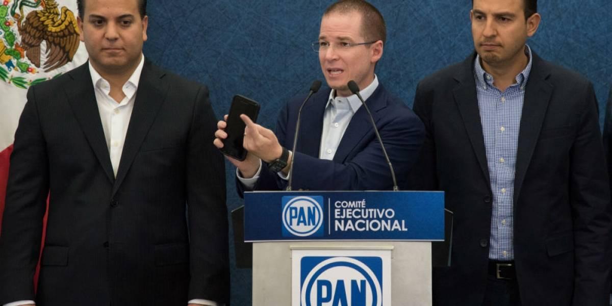 """Panistas han sido espiados con software """"Pegasus"""": Anaya"""