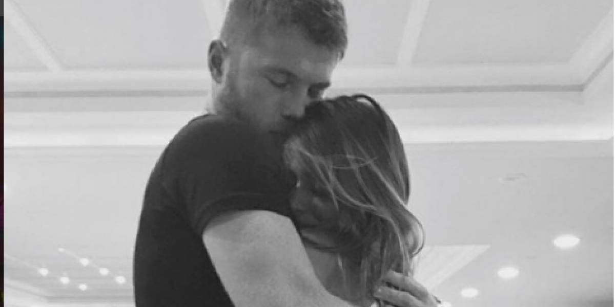 """Beso confirma relación entre Shannon de Lima y """"El Canelo"""" Álvarez"""