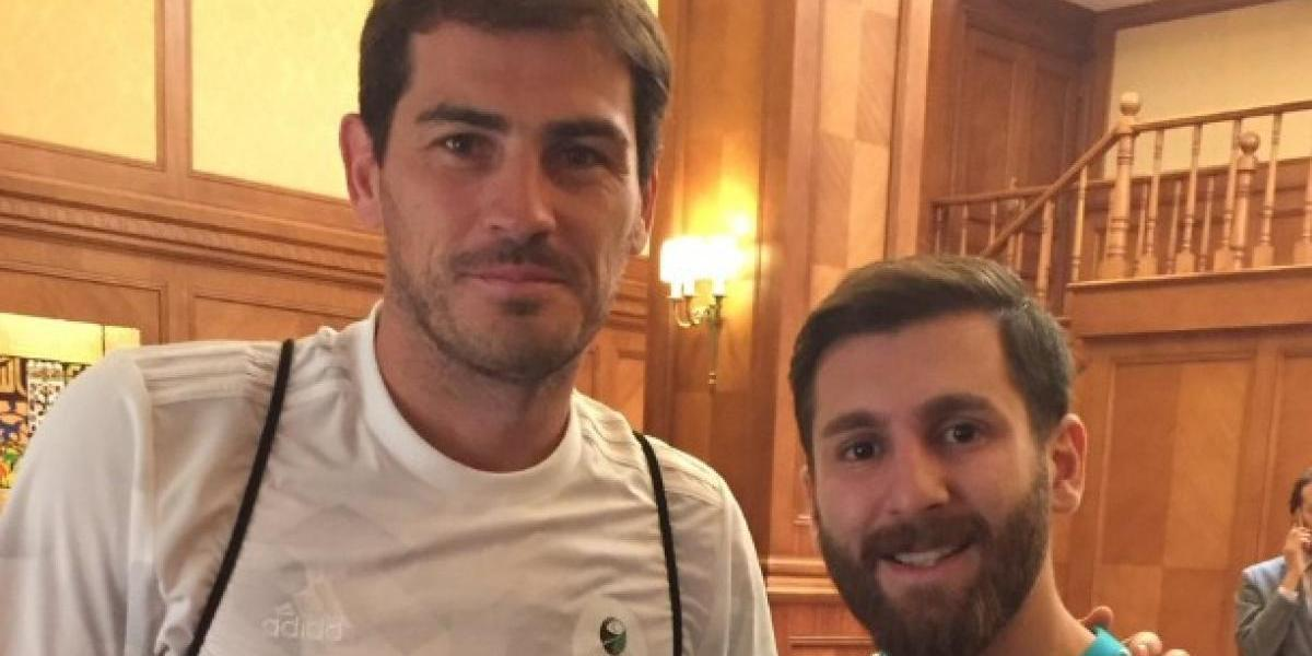VIDEO: Iker Casillas es sorprendido por Messi, el iraní
