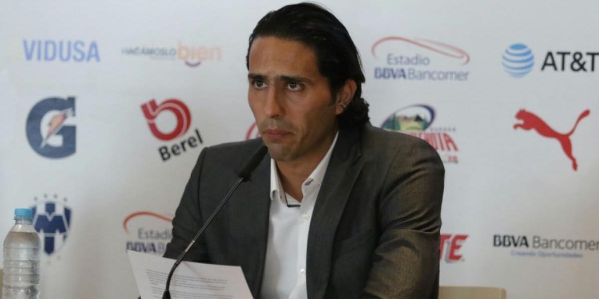 Aldo de Nigris anuncia su retiro del futbol profesional