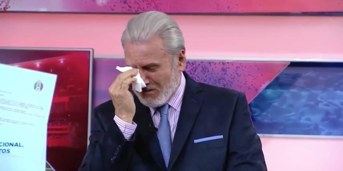VIDEO: ¡Tremenda burla! Albert rompe en llanto tras el 'emotivo' llamado del Tri