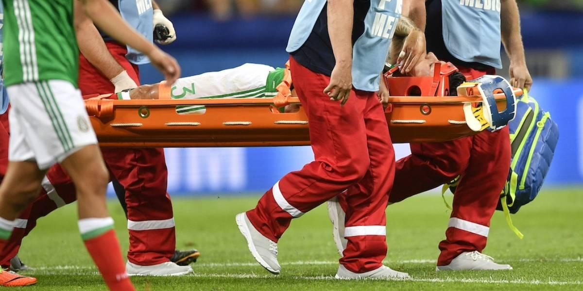 VIDEO: Así fue la lesión de Carlos Salcedo en el México vs. Nueva Zelanda