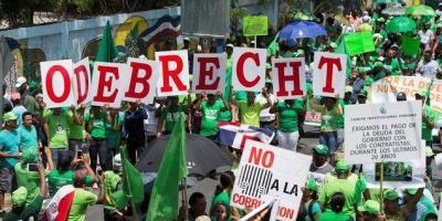 Marcha Verde realiza piquete frente a oficinas de Odebrecht