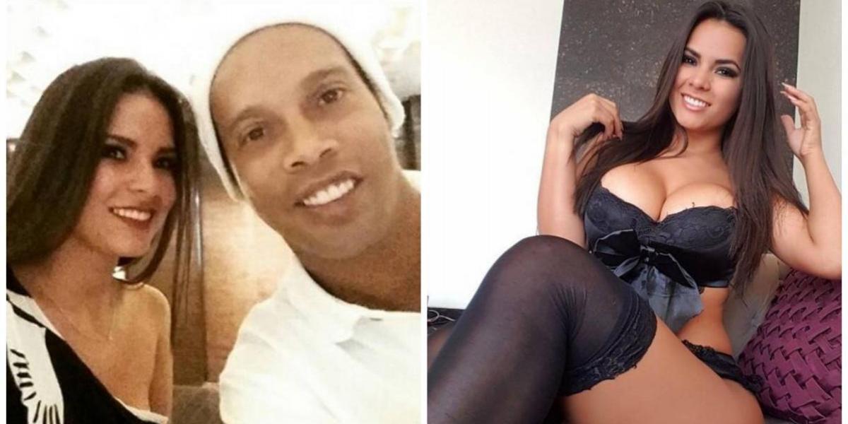 """""""Conejita"""" cuenta cómo fue su noche con Ronaldinho"""