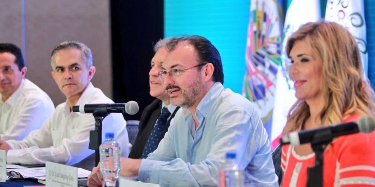 OEA defiende la democracia y derechos humanos: Videgaray