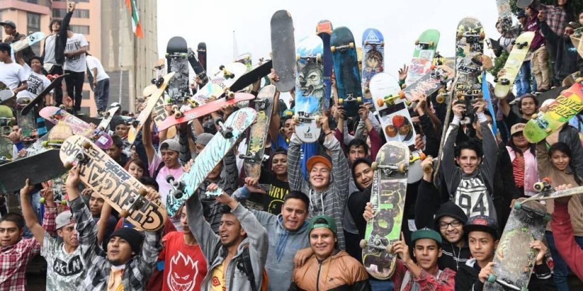 EN IMÁGENES. Jóvenes guatemaltecos celebraron el Día Mundial del Skate con sus mejores trucos