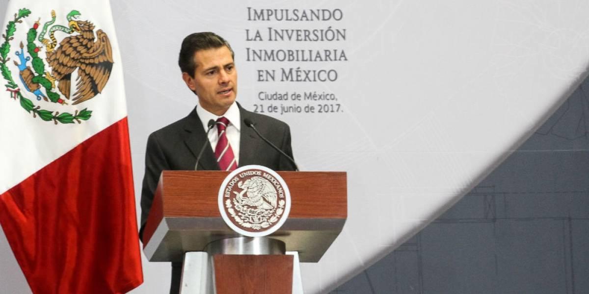 Inversión inmobiliaria se duplicó en los últimos cinco años: Peña Nieto
