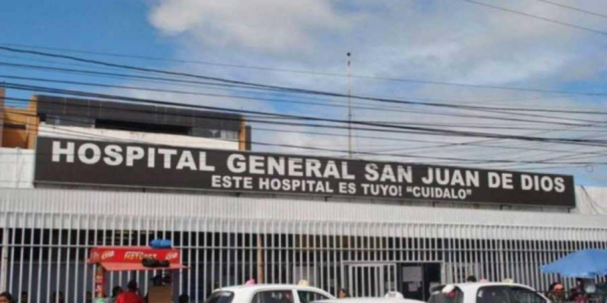 Hospital San Juan de Dios acciona contra infestación de pulgas