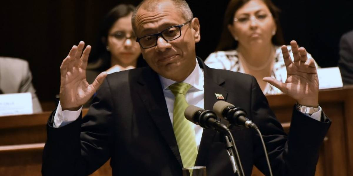 "Vicepresidente de Ecuador: ""mis manos están limpias"""