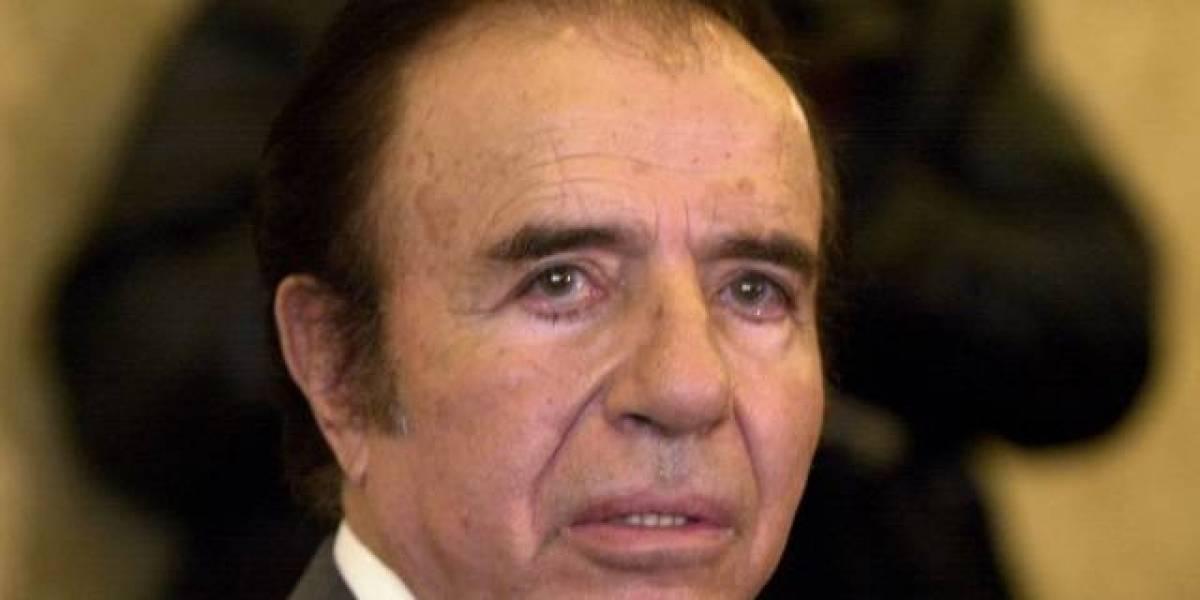 Confirman siete años de cárcel a ex presidente de Argentina, Carlos Menem