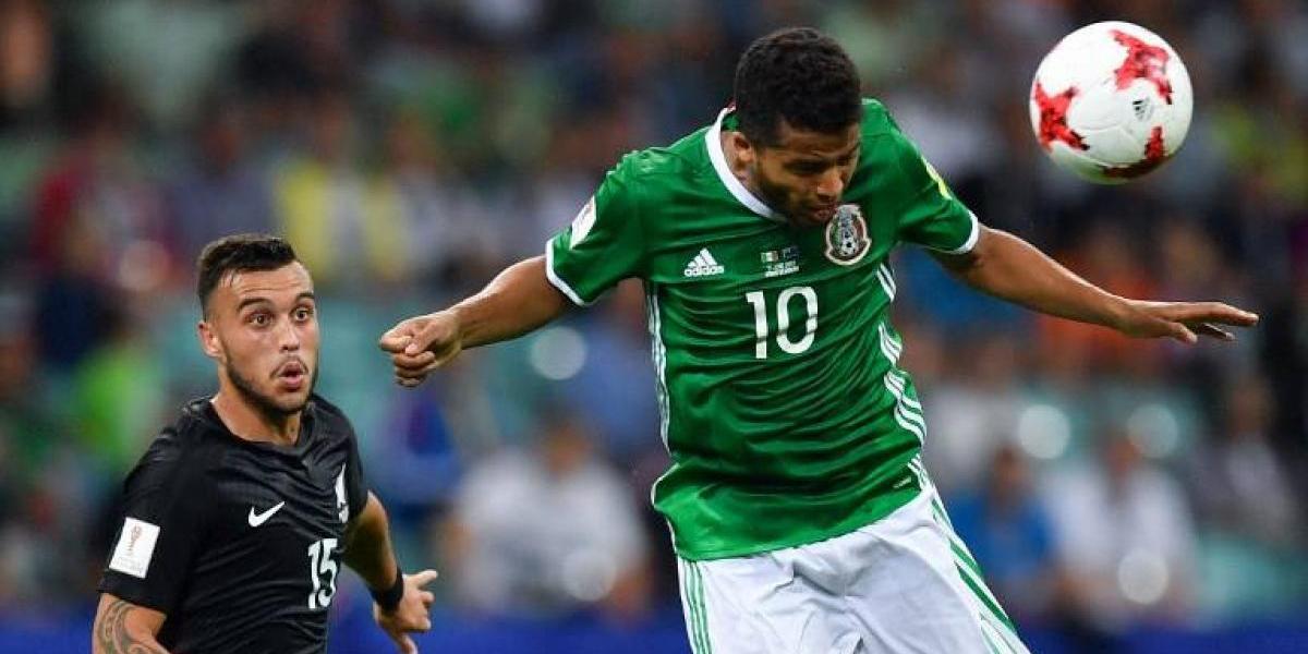 México viene de atrás para vencer a Nueva Zelanda en la Confederaciones