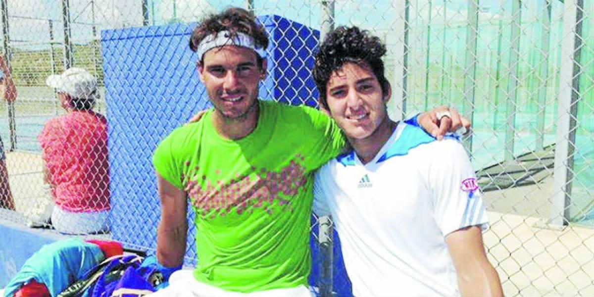 Rafael Nadal prepara Wimbledon entrenando con Christian Garín