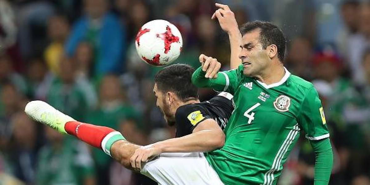 Rafa Márquez sorprende en Francia al jugar en la Copa Confederaciones