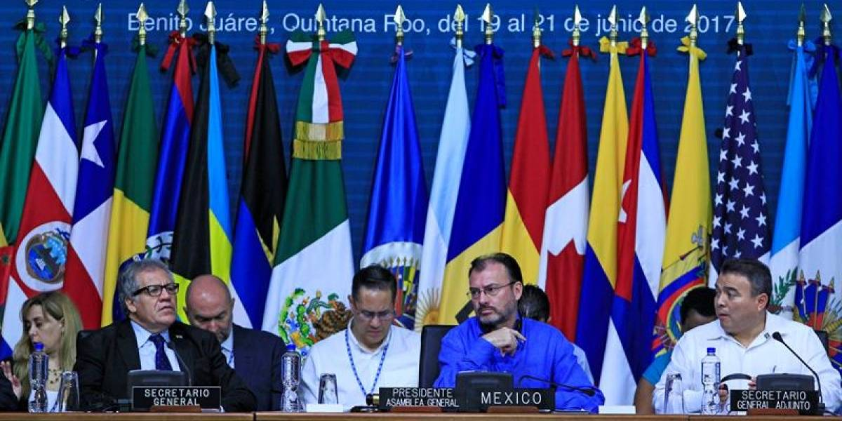 Durante tres días no hubo consenso: Asamblea General de la OEA descarta resolución sobre Venezuela en sesión final