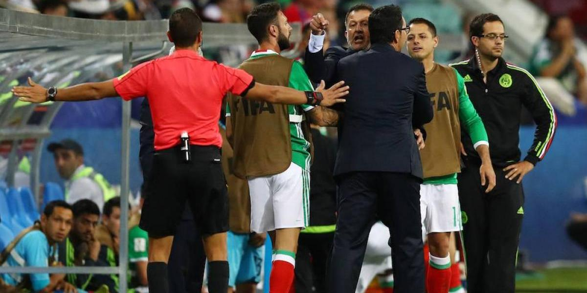 Osorio se disculpa pero acusa a asistente neozelandés de provocador