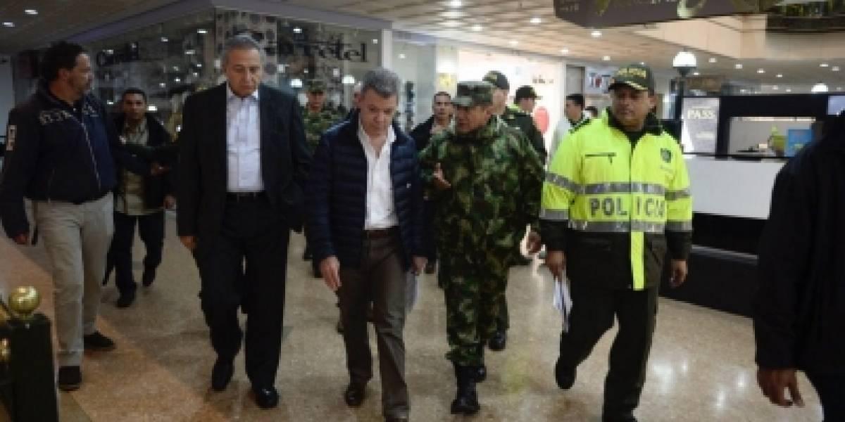 Gobierno de Colombia consolida hipótesis de atentado en centro comercial