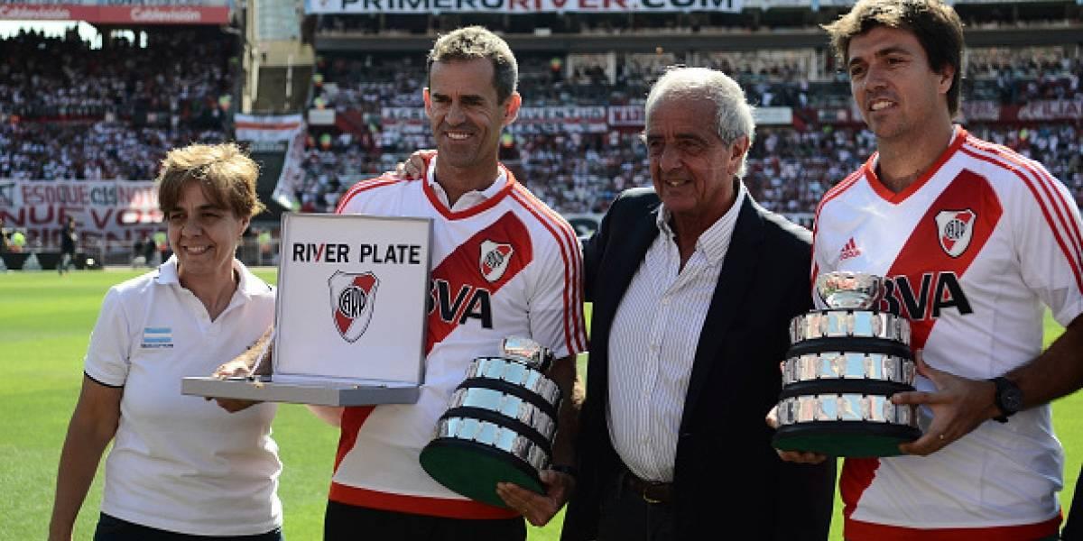 Asaltan y golpean al presidente de River Plate