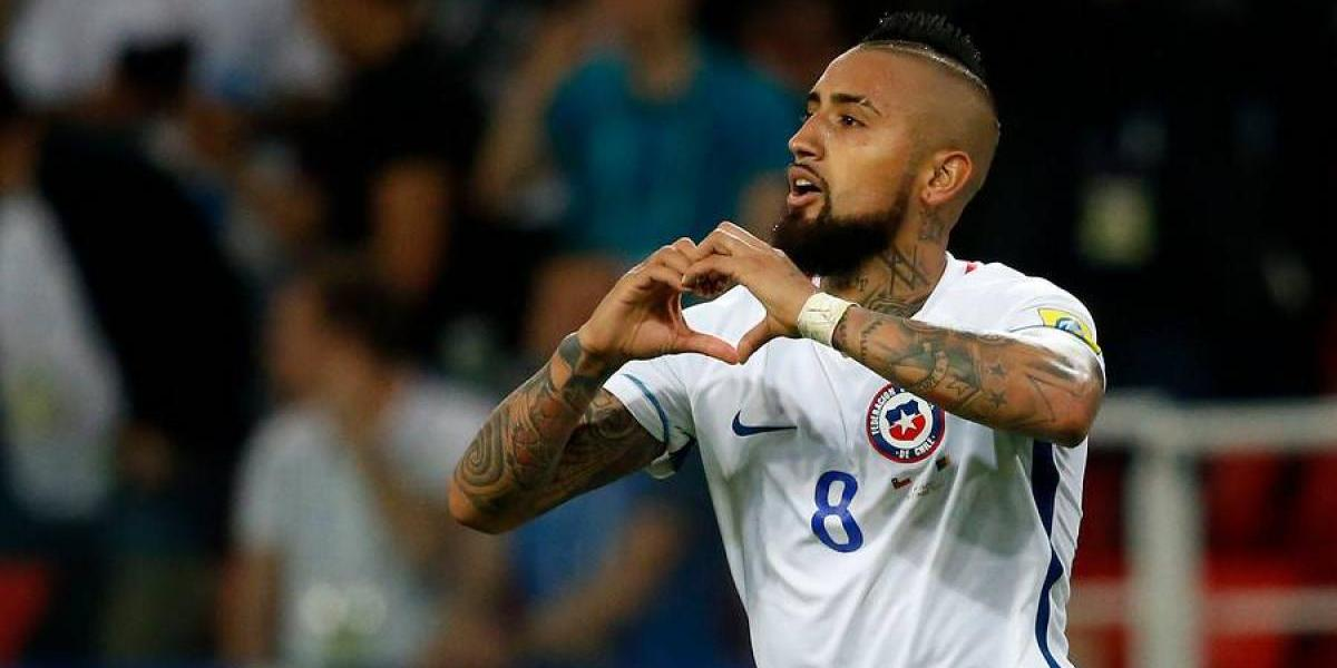 """Vidal quiere revancha con Alemania y recuerda amistoso de 2014:  """"Nos ayudó a pararnos de igual a igual"""""""