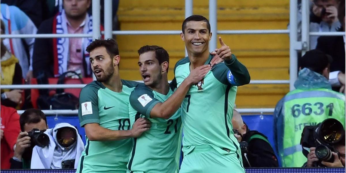 Cristiano Ronaldo hace historia ante Rusia