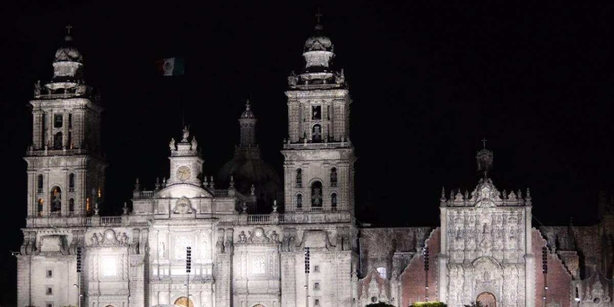 Catedral de la CDMX estrena iluminación