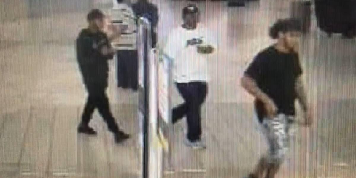 Buscan a tres hombres por robar tenis en Bayamón