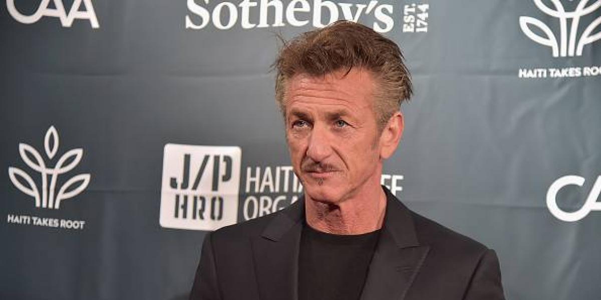 Sean Penn discute enfurecido con el novio de su hija en plena calle
