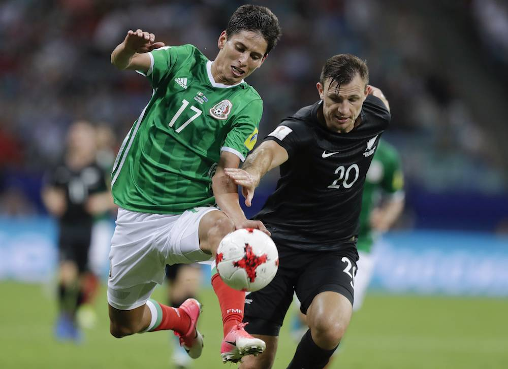 Soccer Confed Cup Mexico New Zealand
