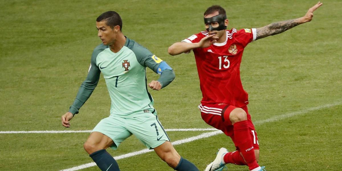 Cristiano guía a Portugal sobre el anfitrión Rusia