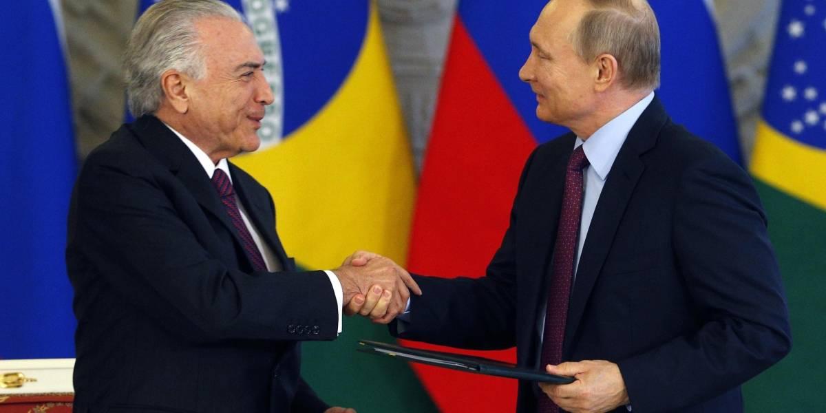 Putin diz que muito foi feito para fortalecer parceria entre Brasil e Rússia