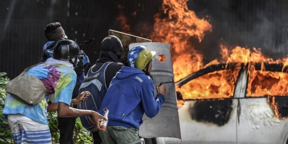 Oposición de Venezuela llama a rebelión contra Gobierno de Maduro