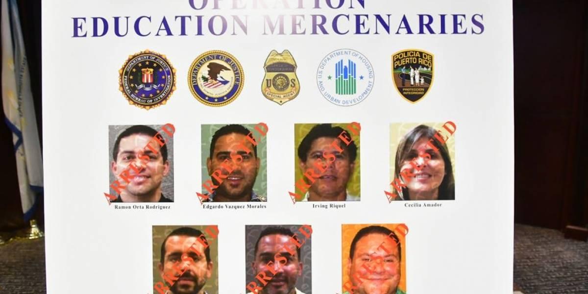 Revelan identidades de otros arrestados junto a Ramón Orta