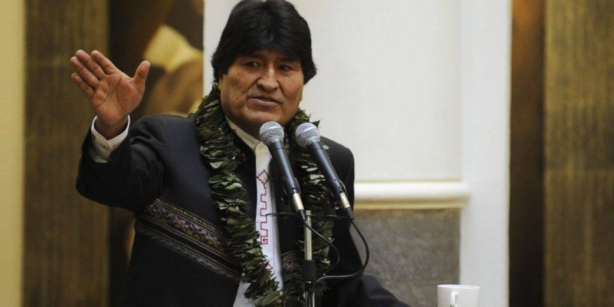 """Evo Morales y nueve bolivianos detenidos en Chile: """"Son mártires por la reivindicación marítima"""""""