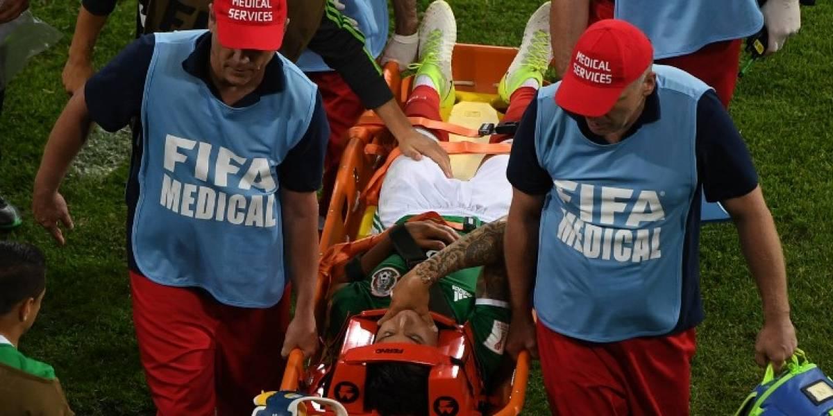 México pierde a defensor por lesión para el resto de la Copa Confederaciones