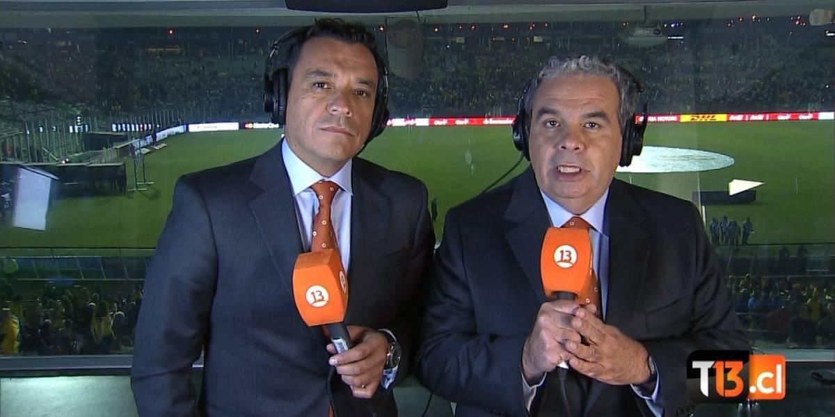La dura lucha por el rating entre Mega y Canal 13 en la Copa Confederaciones