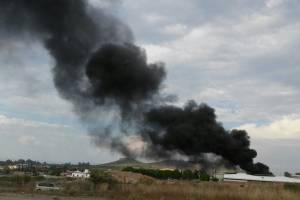 Se incendia fábrica de zapatos en Los Altos de Jalisco