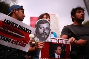 Piden que Javier Duarte vuelva a declarar por caso Narvarte